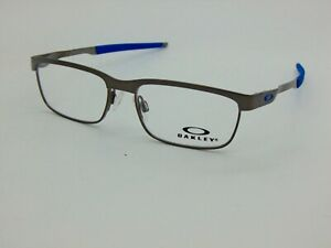 OAKLEY YOUTH STEEL PLATE XS OY3002-0246 Satin Brushed Chrome Kids 46 Eyeglasses