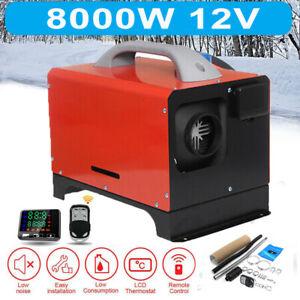 12V 8KW Diesel Standheizung Einfach Luftheizung+Fernbedienung LCD Air Heater RV