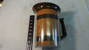 West Bend Thermo-Serv Wood Barrel Look Insulated 55 oz Pitcher