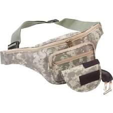Digi Camo FANNY PACK Concealed Hand GUN HOLSTER Belt Waist Bag CCW Pistol Holder