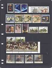 Australia 1986 Commemoratives (Sc 972-1008 (short 993-996) Vf Mnh