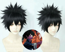 My Boku no Hero Academia Dabi Wig Black Short Cosplay Costume Wig + track + cap