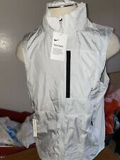 NEW NIKE MEN'S Gilet Hooded Training Vest CD5720 004 SIZE Large L