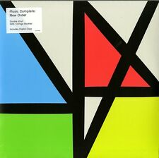 NEW ORDER MUSIC COMPLETE DOUBLE VINYLE LP + BROCHURE 12 PAGES NEUF