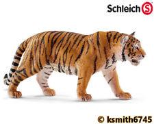 Schleich TIGER solid plastic toy wild zoo animal cat feline predator * NEW *💥