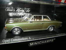 1:43 Minichamps opel commodore a 1966 Green/verde nº 430046160 OVP