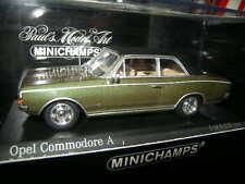1:43 Minichamps OPEL COMMODORE A 1966 GREEN/VERDE N. 430046160 OVP