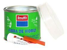 Masilla de Relleno + Endurecedor KRAFFT Fibra de Vidrio 250g. para Coche