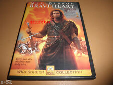 New listing Braveheart dvd Mel Gibson commentary Sophie Marceau catherine mccormack