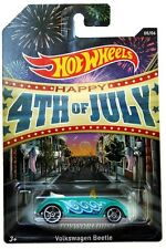 2014 Hot Wheels Kroger Exclusive Happy 4th of July #5 Volkswagen Beetle