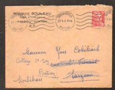 """CHATEAU-GONTIER (53) BOIS & CHARBON """"M. BOULEAU"""" en1951"""