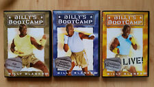 Billy's Boot Camp 3 DVDs Billy Blank Workout Fitness Abnehmen