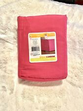 Full size Pleated bed skirt for bed 76 x 54 inch with 14 inch drop pink! New