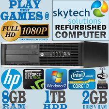 Computer desktop con hard disk da 1TB RAM 8GB 3.40GHz