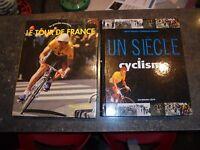 UN SIECLE DE CYCLISME / LE TOUR DE FRANCE / Ancien Vélo Course Cycliste