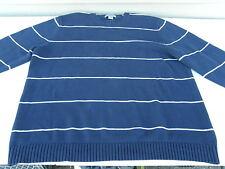 EDDIE BAUER MEN'S CREWNECK WINTER SWEATER XL 100% COTTON NICE ONE FREE ShipN 48