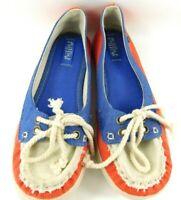 Women/'s MadLove Flip Flops White Blue Tropical Flower Beach Sun Sandals Mad Love