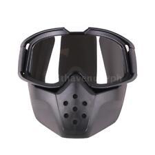 Objektiv Motorrad Brille Maske Motocross Gesichtsmaske Brille abnehmbare E5H5