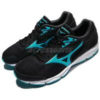 Mizuno Spark 3 Black Blue Women Running Shoes Sneakers Trainers K1GA18-0424
