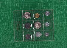 9 Kursmünzen - Italien 1970    ( 25194 )