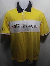 Nautica Vintage Polo Rugby Sailing Club SS Shirt Mens Size Small