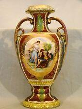 Vienna Cabinet Urn Vase after Angelica Kaufmann Blue Royal Vienna Style Beehive