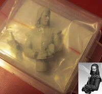 Nocturna WW01 Winter Lord Bust (1) 1:18 Scale Miniature Noble Warrior Councilor