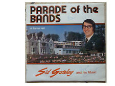 SID GATELEY * PARADE OF THE BANDS * SIGNED  LP EXON AUDIO EAS 12 PLAYS GREAT