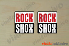 PEGATINA STICKER VINILO Bike horquilla Rock Shox