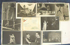 Zinovy Korogodsky Autographs In Russian & 9 Photos Young People's Theater 1970's
