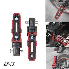 2019Pair Rear Motorcycle Anti-Skid Widened Foot Rest Pedal Motorbike Accessories