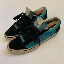 Rare Visvim X Gallery1950 Japan Only Logan Lo Black Blue Shoes Kiefer 9.5