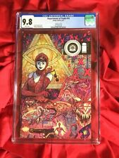CGC 9.8~DEPARTMENT OF TRUTH #10~VINCENZO RICCARDI COVER B~JAMES TYNION IV STORY~