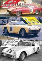 Calcas Ferrari 250 GT LWB Le Mans 1959 11 18 20 1:32 1:24 1:43 1:18 slot decals