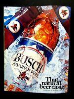 """Busch Los Angeles 1975 Regional Natural Beer Taste Original Print Ad 8.5 x 11"""""""