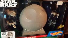 Star Wars Death Star Play Case & 4-pc. Starship Set by Hot Wheels - New in Box!