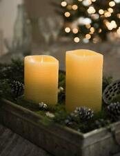 Beeswax Flame Effect LED Candle, 7