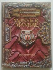 D&D MONSTER MANUAL 3.5 CORE RULEBOOK III