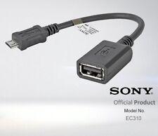 Cable adaptador microUSB OTG Sony Ec310
