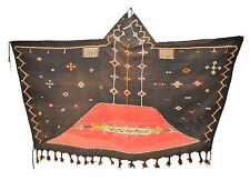 Wanddekoration Alte Nomaden Berber Kleid  aus Ait Ouaouzguite Region handgewebt