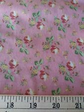 DUSTY ROSES 100% cotton fabric by half yard **FREE SHIPPING*