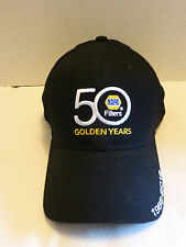 NAPA Filters Hat Cap 50 Golden Years Anniversary NEW Black Embroidered Adjust
