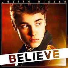 JUSTIN BIEBER BELIEVE DELUXE EDITION 2012 DIGIPAK CD + DVD SET NEW