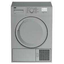 Beko DTGC7000S B Rated 7kg Sensor Condenser Tumble Dryer in Silver 2 Temps
