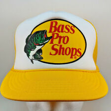 Bass Pro Shops Mesh Snap Back Trucker Baseball Hat Cap Fishing a385eb1c574a