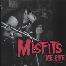Misfits We Bite LP ~ Irving Plaza, New York 3/27/82 ~ Colored Vinyl (Pink) ~ New
