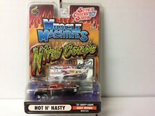 1:64 MUSCLE MACHINES NITRO COUPE HOT 'N' NASTY 1937 CHEVY COUPE - GARY IRVING