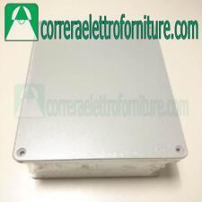 Cassetta scatola esterna alluminio derivazione 315x260x111mm IP55 SCAME 65305
