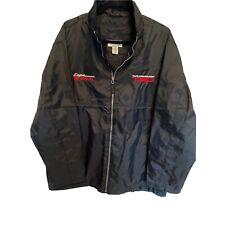 TRD Racing Development Jacket Rare Daytona Toyota Nascar Black Lightweight Z973D