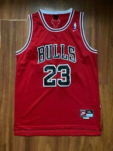 CHICAGO BULLS BASKETBALL SHIRT NIKE JERSEY #23 JORDAN SIZE 2XL